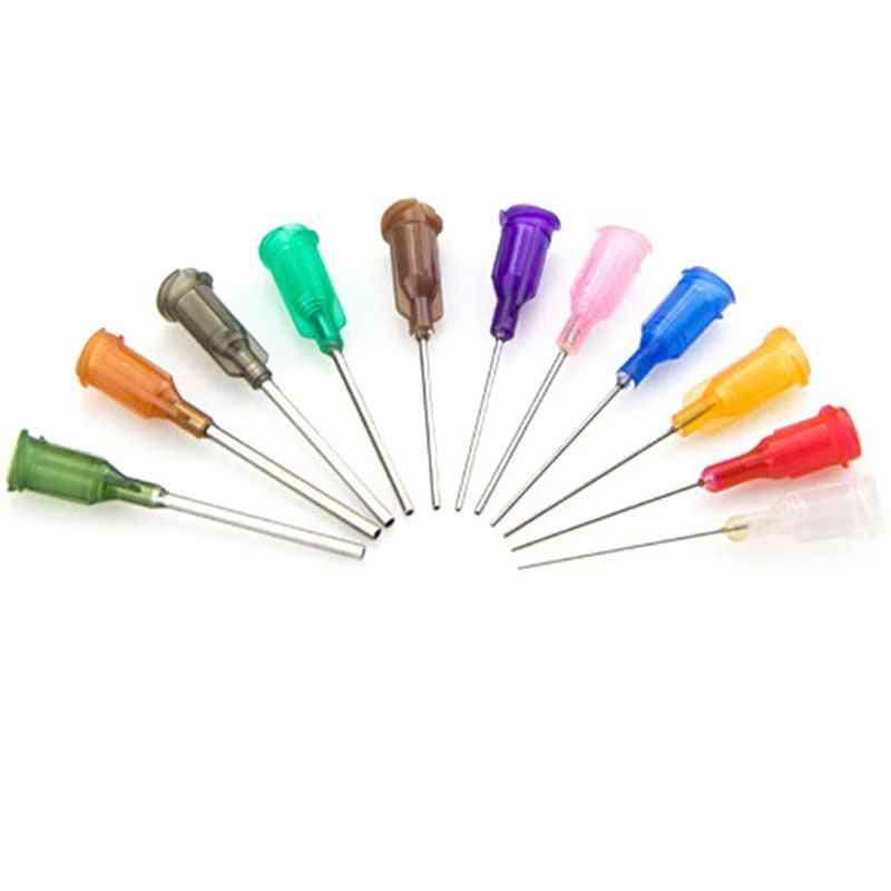 Dispensing Screw Needles Tip- Liquid Dispenser Syringes