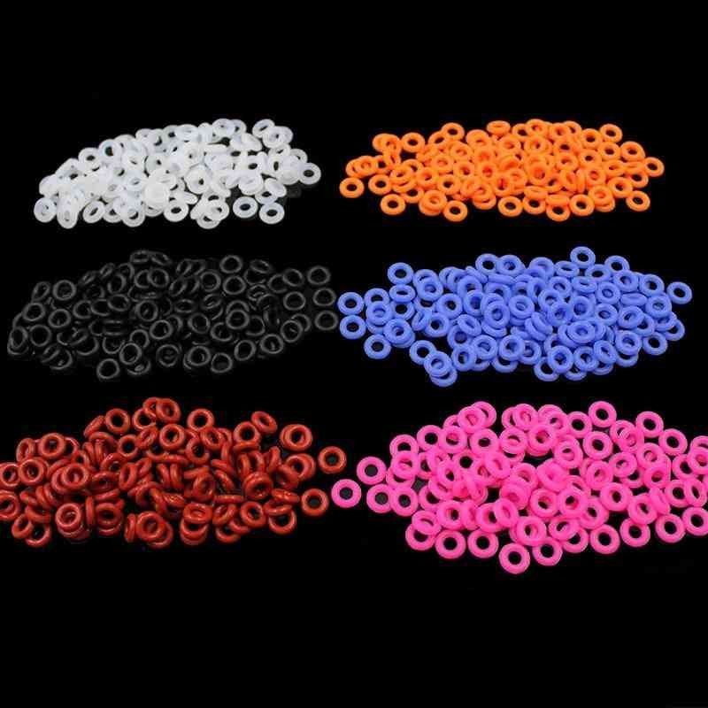 110pcs Of Rubber Silicon Keyboard-  O Ring Seal For Noise Reduction