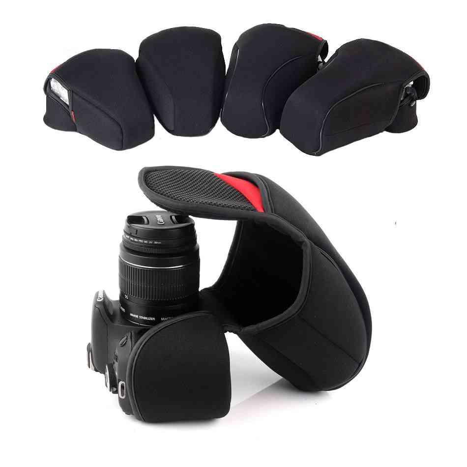 Dslr Camera Inner Soft Bag Case For Canon