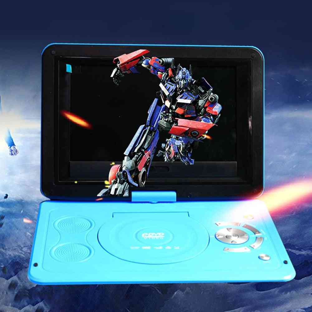 Mini Portable, 270 Degree Rotatable Lcd-dvd Player