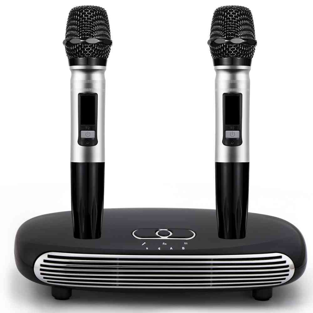 Wireless Mini Echo Sound System- Singing Machine Players With Microphones