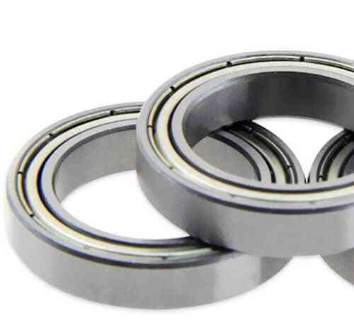 4/6pcs  Rubber Sealed Steel Cover , Deep Groove Ball Bearing Miniature
