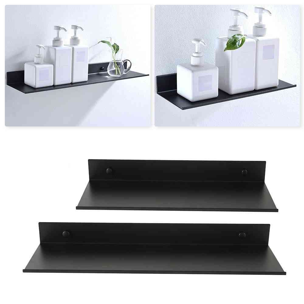 Storage Rack Space- Aluminum Wall Shelf Thickened Organizer
