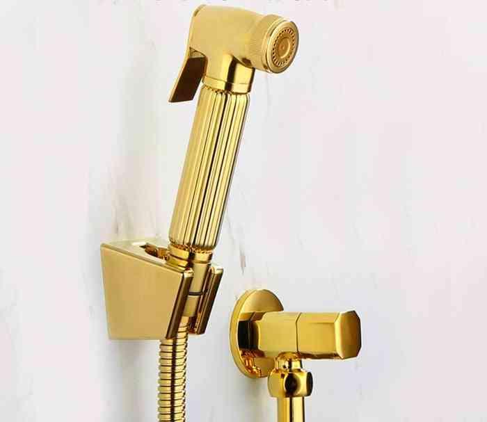 Toilet Hand Held Diaper Copper Bidet Sprayer