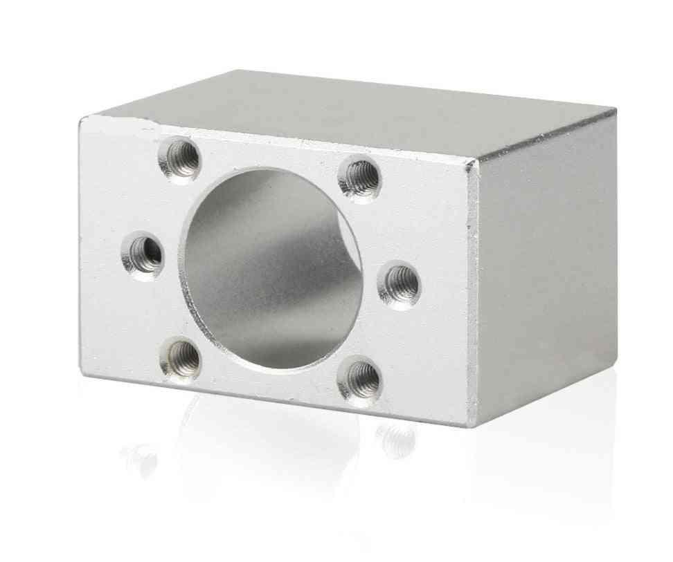 1pcs Of Aluminum Alloy, Ball Screw Nut Housing Seat