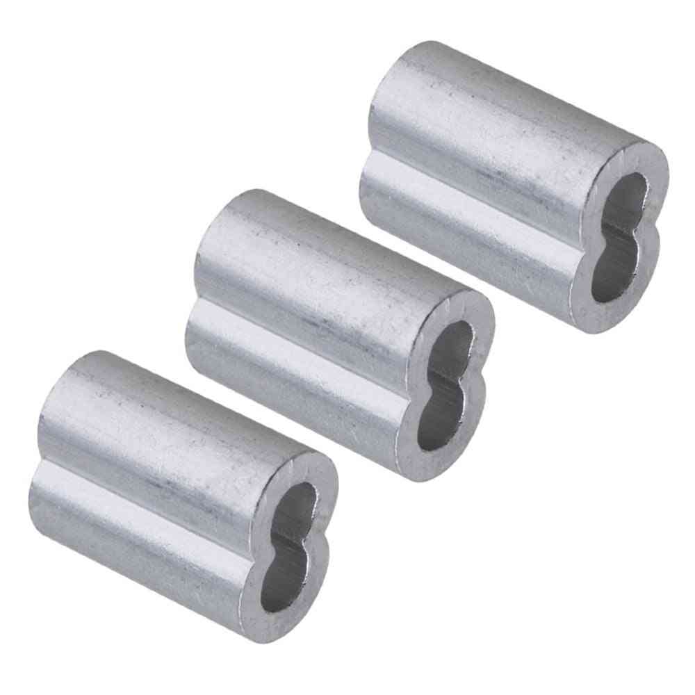 Double Hole, 3mm Wire Rope Aluminum Clamp