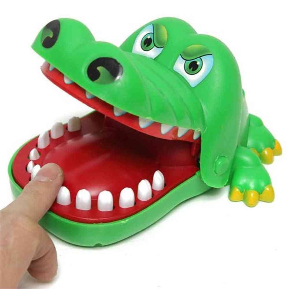 Creative Small Size Crocodile Mouth - Bite Finger Toy