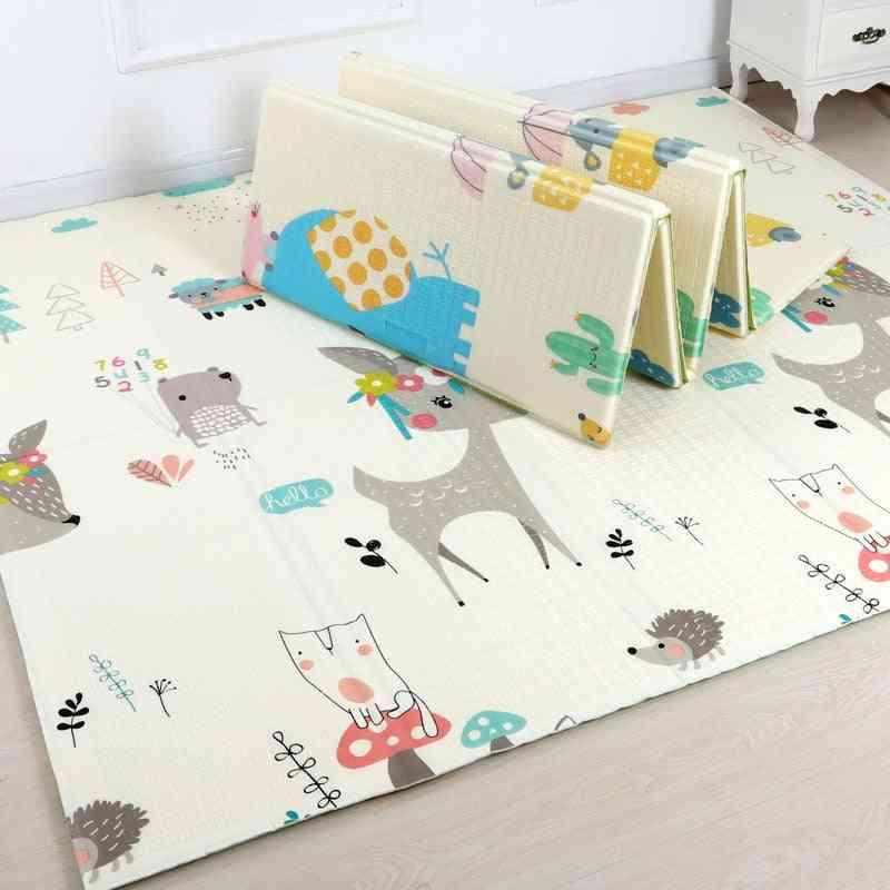 1pcs Foldable Cartoon Baby Play Rug / Mat