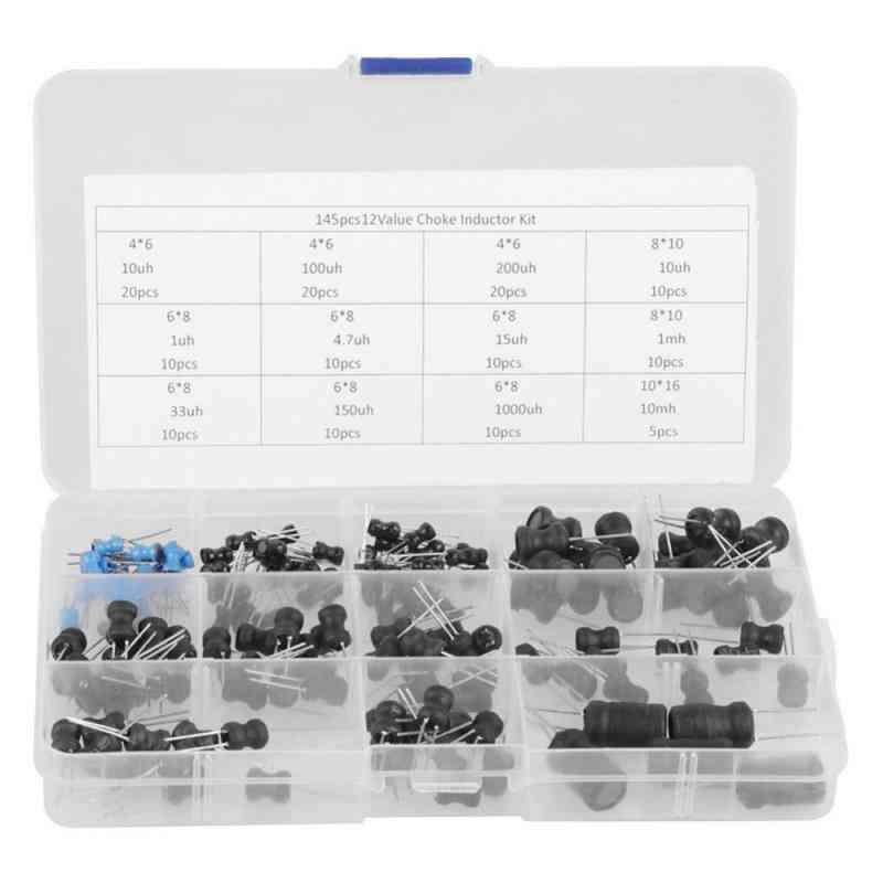 10uh-10mh 12 Values Choke Inductors Assorted Kit