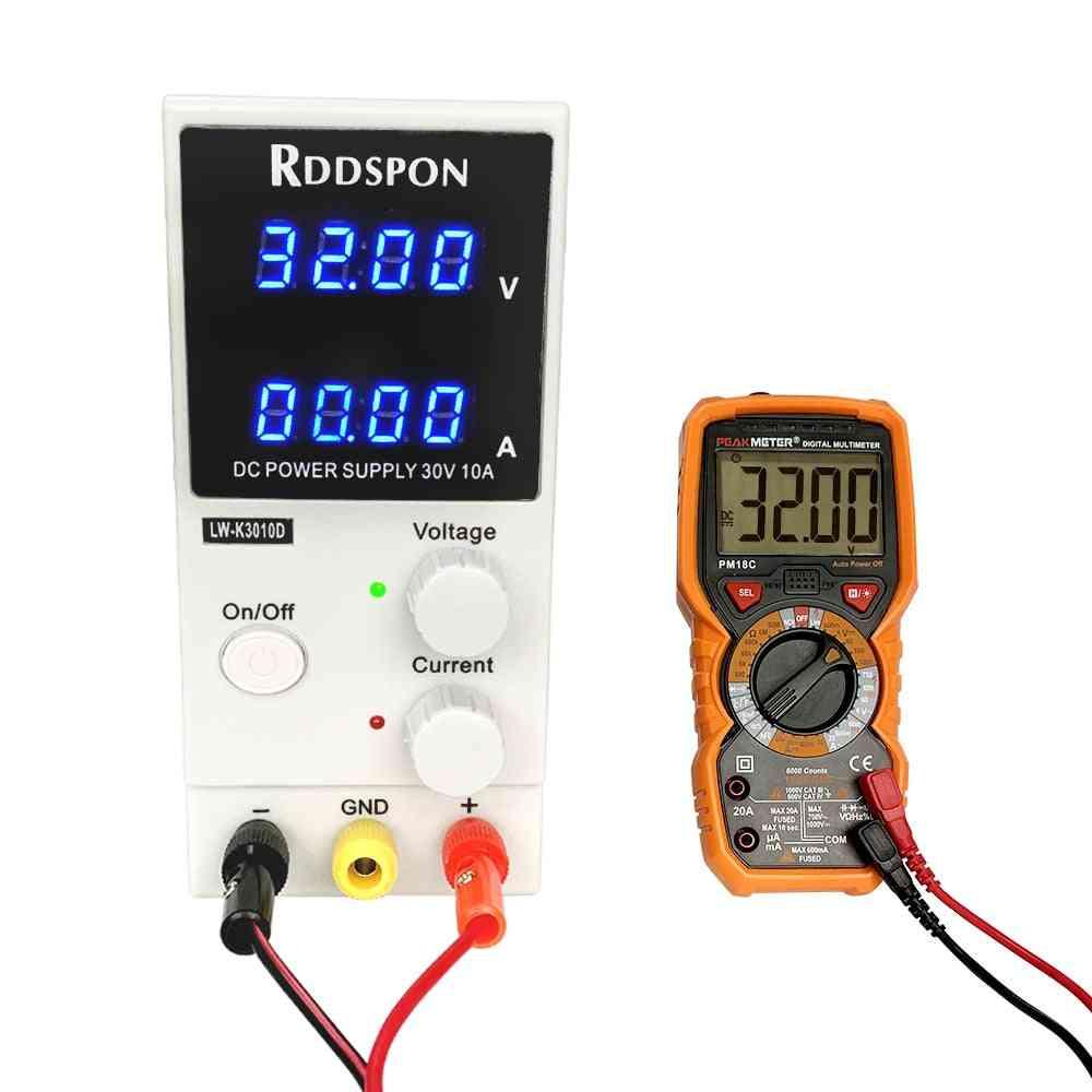 30v/10a Adjustable Power Supply Voltage Regulator With Led Digital Display