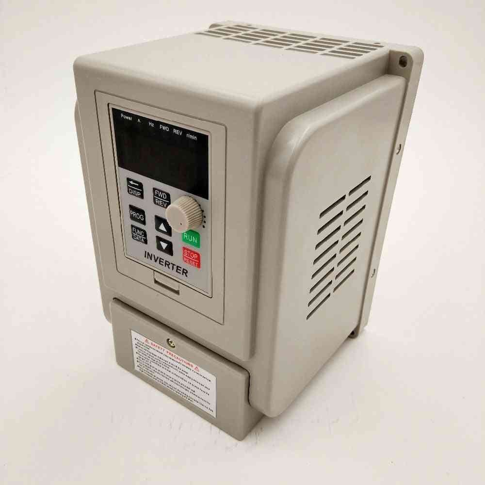 Vfd 2.2kw New Inverter Cnc Spindle Motor Speed Control 220v 1.5kw/2.2kw/4kw 220v Input-  Out  Frequency Inverter