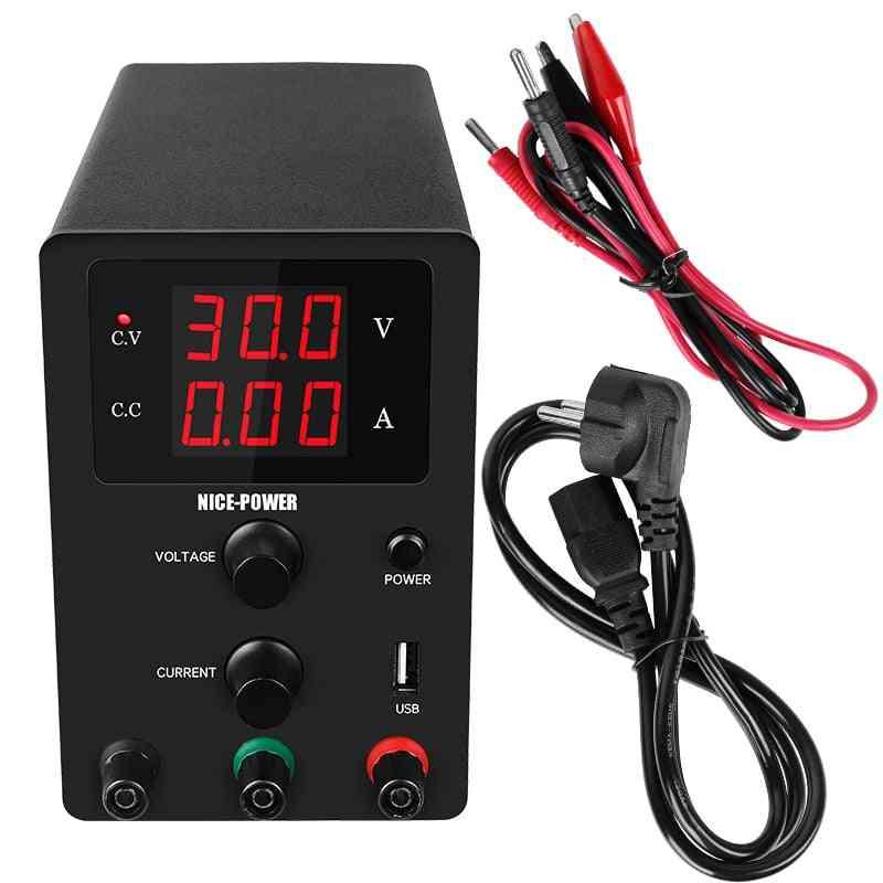 Usb Dc Laboratory 60v 5a Regulated Lab Power Supply