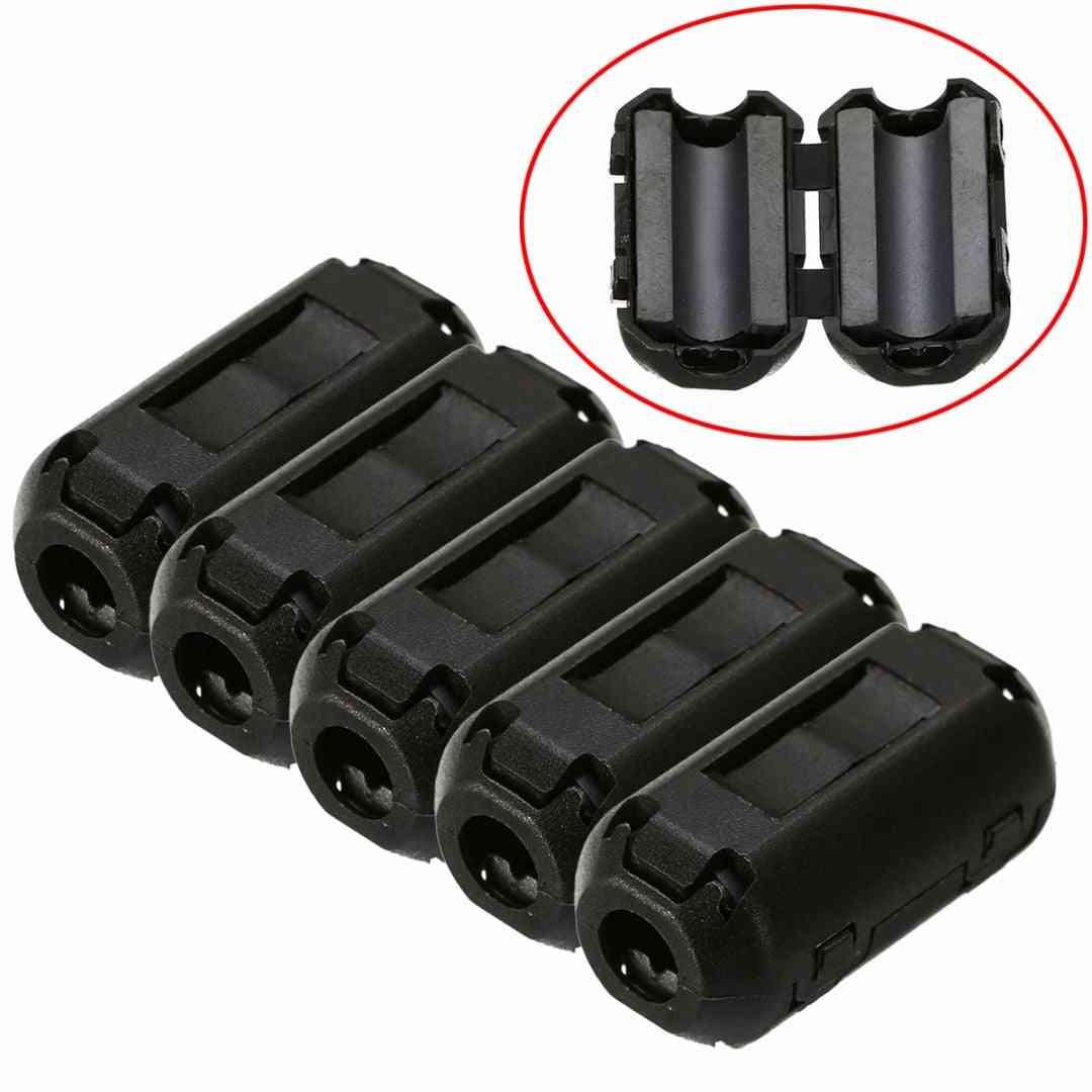 Ferrite Filters Noise Suppressor Shielded Magnetic Rings - Emi Rfi Clip Choke Core Cable