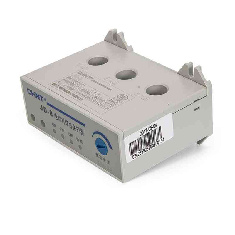 5a/20a/80a/160a Current Overload And Phase Loss Motor Protective Relay Protector, 220v 380v 20a-80a 2a-20a Jd-8 Jdb-1