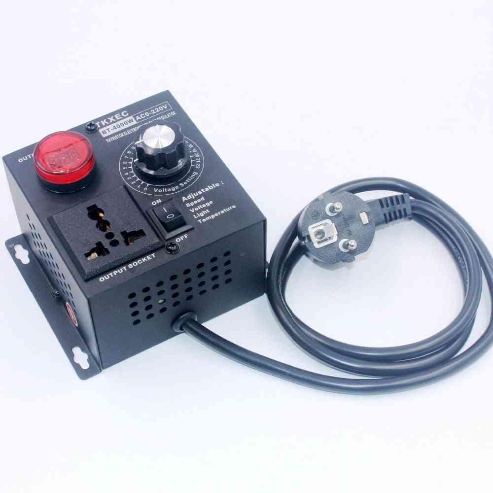 Electronic Voltage Regulator, Temperature/speed Controller
