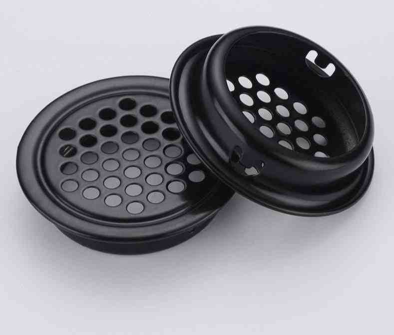 6pcs Stainless Steel Convex / Flat Cabinet Air Vent