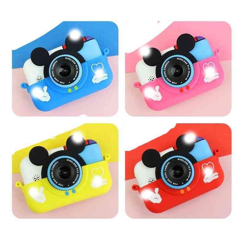 Mini Digital Camera Ips Screen 1080p Hd Video Selfie Slr Toy Birthday Kids