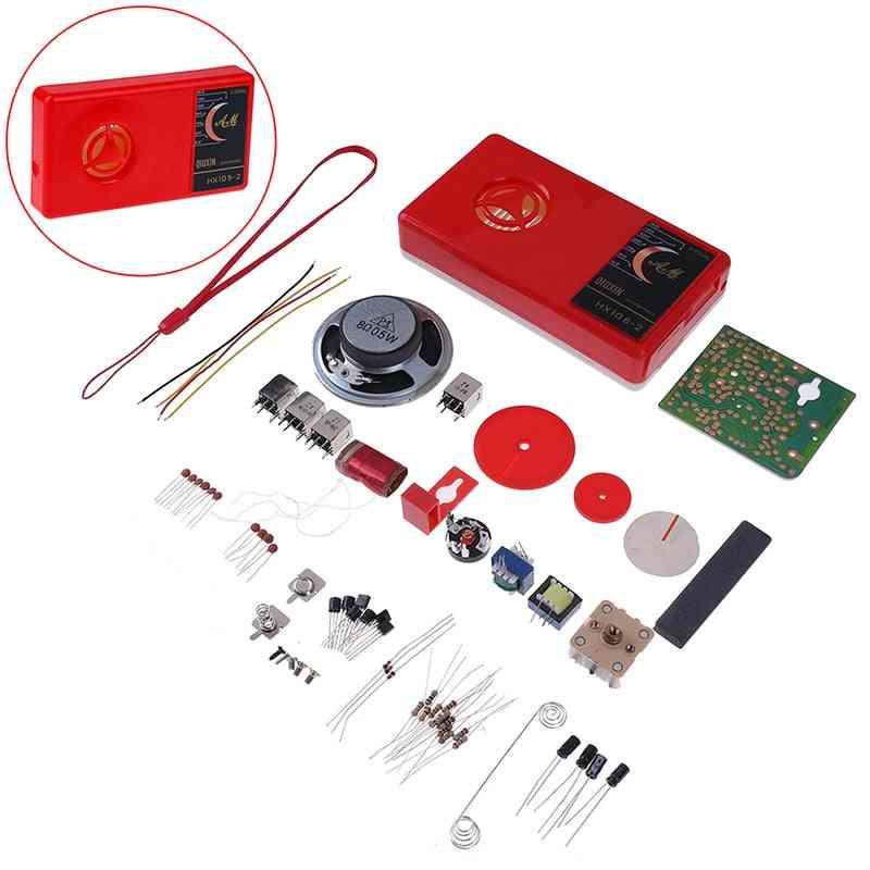 1 Set Of Electronic Diy Radio Kit