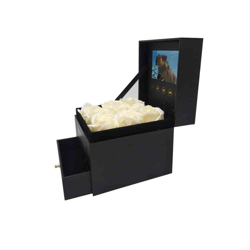 Hardcover Box Video Brochure With Drawer - Universal Greeting Card