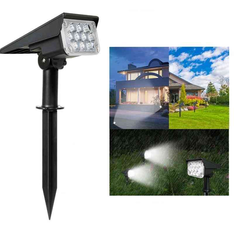 20led Adjustable Solar Garden Spotlight