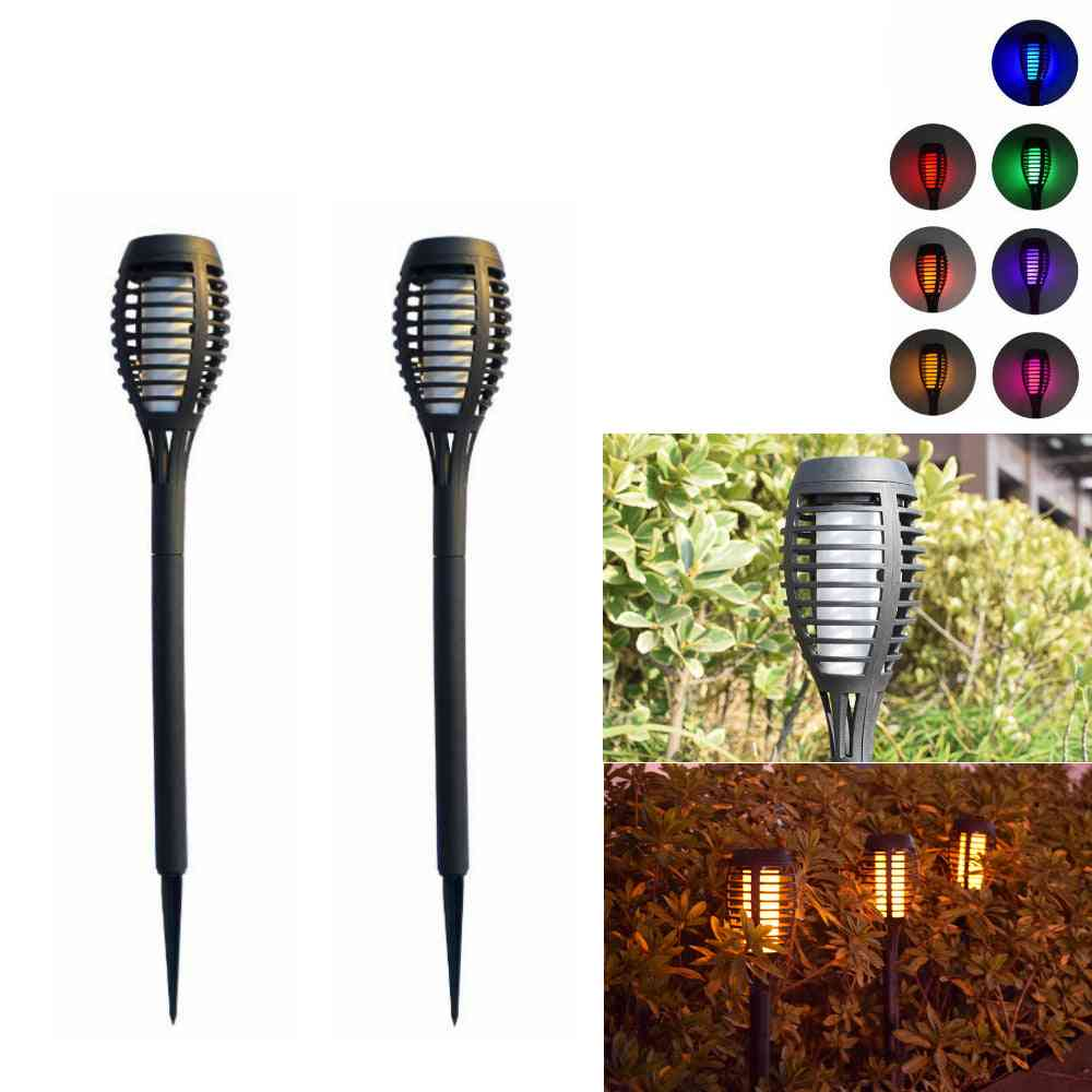 Led Solar Lawn-lights, Ip67 Lamp For Courtyard And Garden Balcony