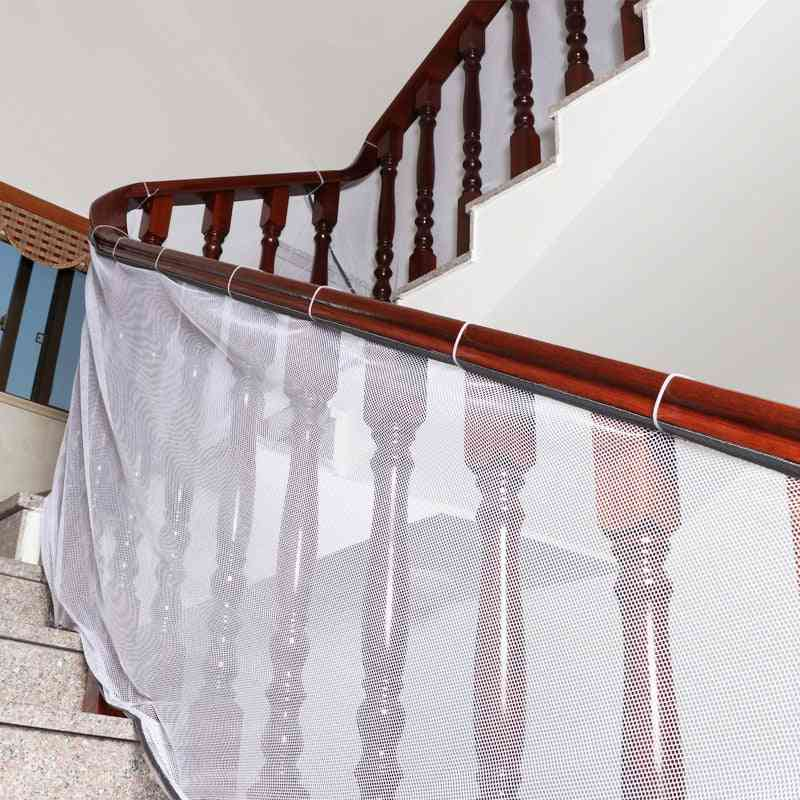 3m Thick Safety Fence - Stair Net Deck, Rail Roving Banister, Plant Cover Protection