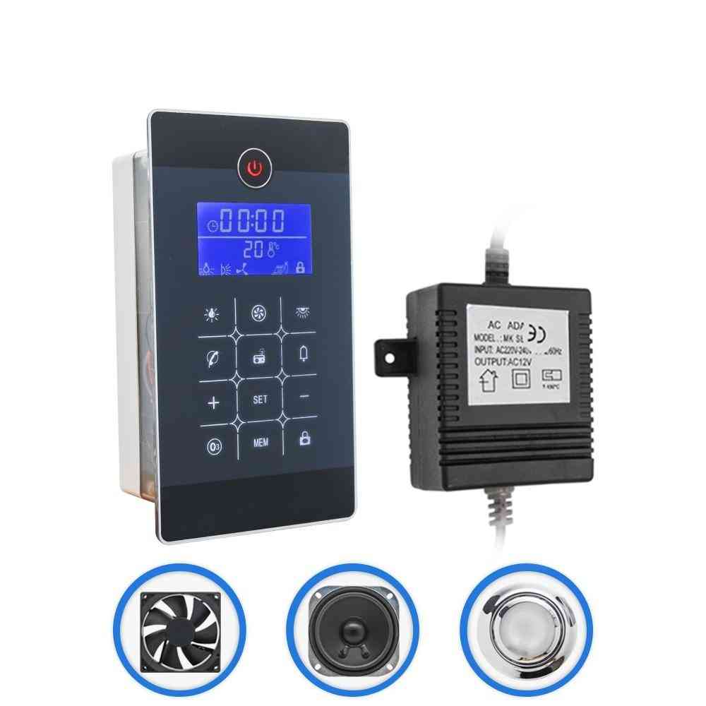 Rectangle Lcd Display -  Fm Radio Controller Kit For Shower Room