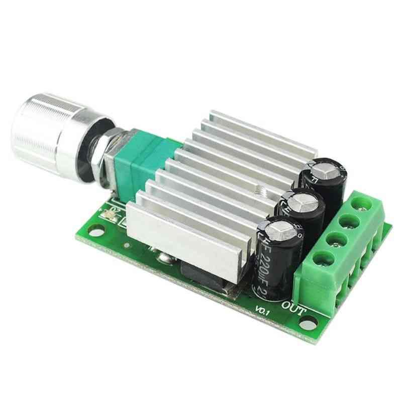 12v/24v 10a Pwm Dc Motor Speed Controller - Adjustable Speed Regulator Dimmer Control Switch For Fan Motors & Led Light