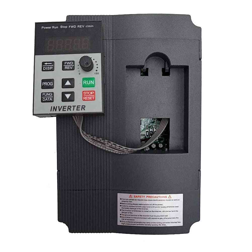 Vfd 1.5kw/2.2kw/4kw Inverter, Xsy-at1, Frequency Converter, Single-phase Input And 3-220v Output Motor Speed Controller