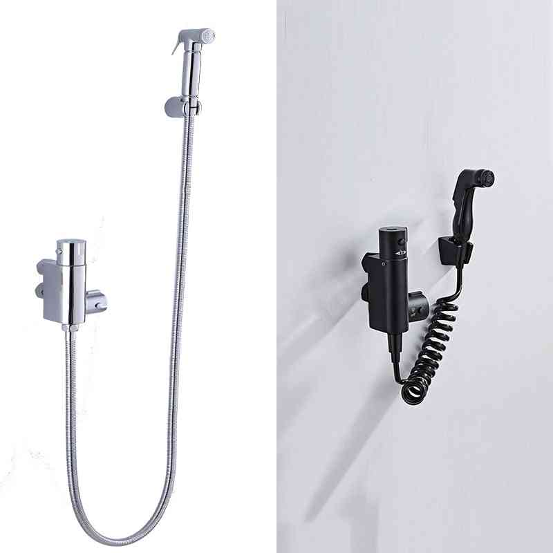 Thermostic Shower, Wall-mounted Bidet Faucet Sprayer