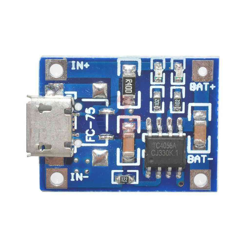 5v 1a, Micro Usb-1a Lithium Battery Charging Power Module
