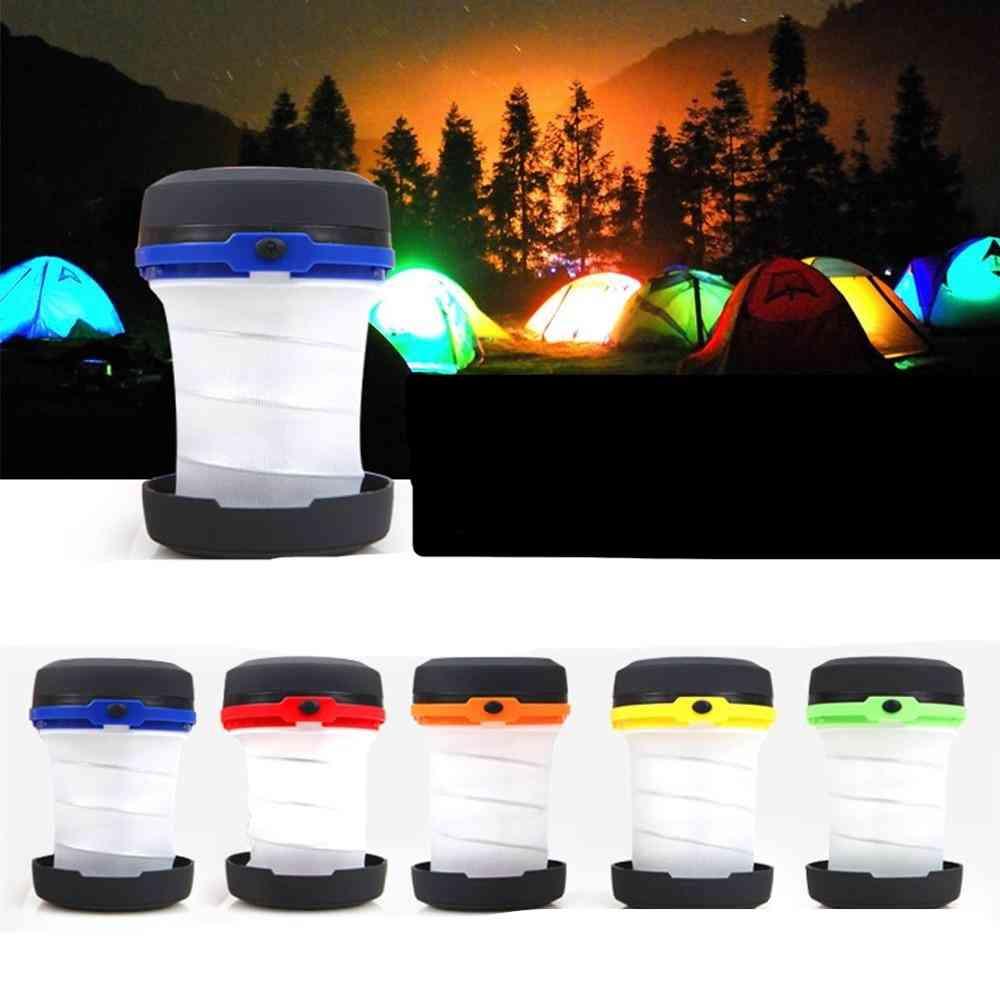 Led Multifunctional Telescopic Folding Camping Light