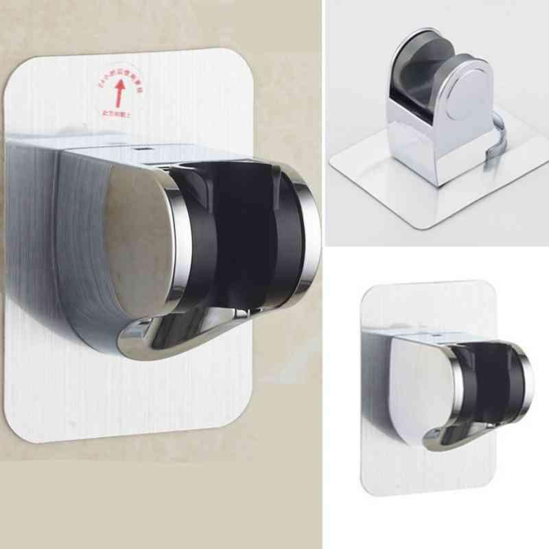 Adjustable, Self-adhesive Handheld Showerhead Holder Bracket