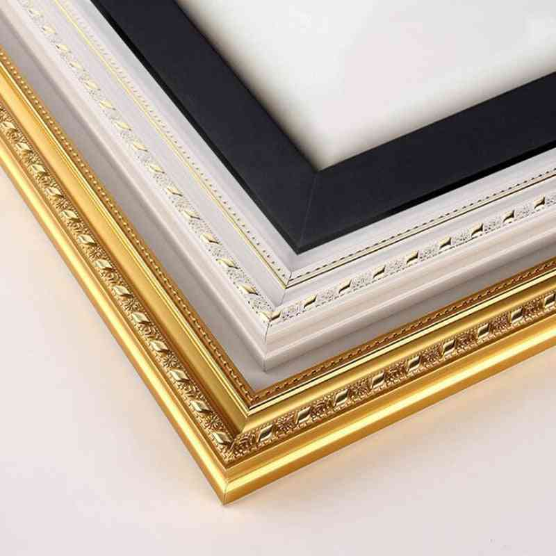 Oil Painting Diamond Mosaic, Wood Stretcher Thick Frame
