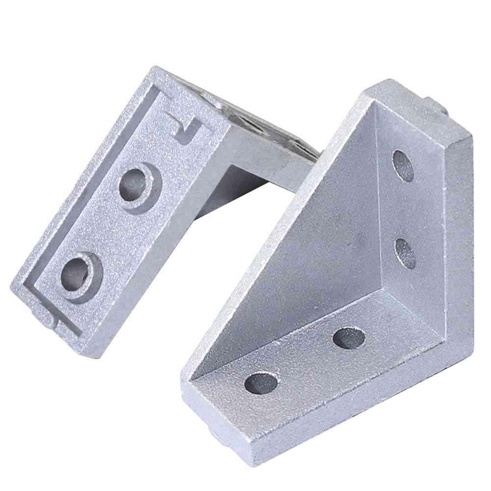 Triangle Bracket For Corner Fitting- Aluminum Extrusion Profile