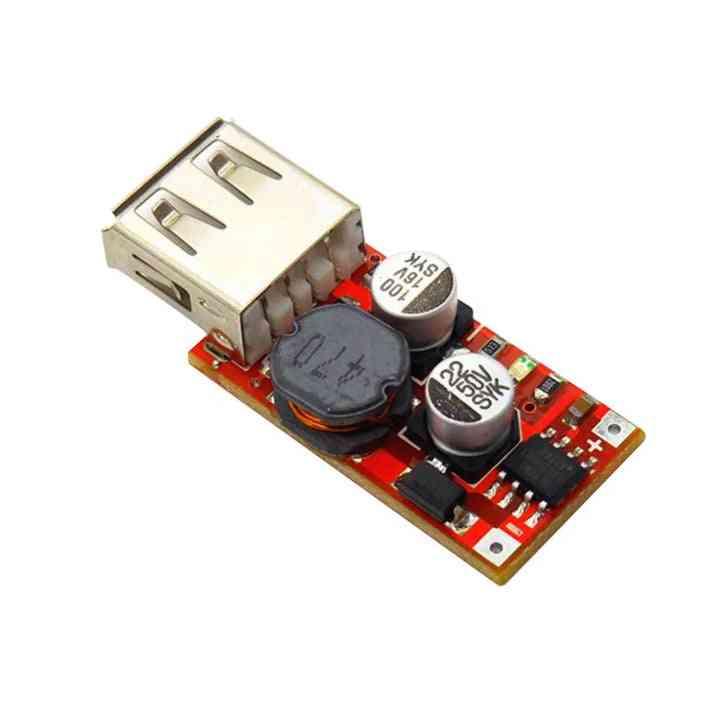 9v/12v/24v To 5v Dc-dc, Step Down Car Charging Charger 3a Output Usb Module - Pcb Board