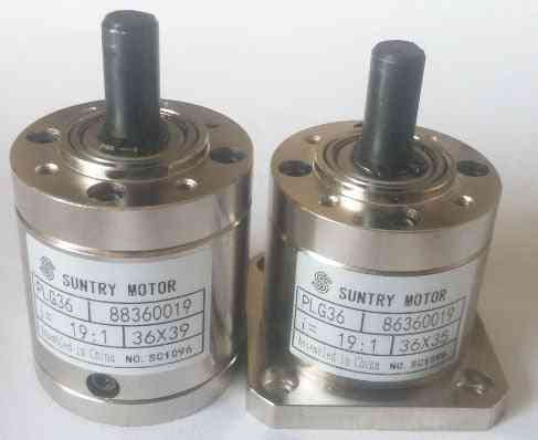Planetary Gearbox Plg36-3.71:1/5.18:1 Ratio-round And Square Flanges