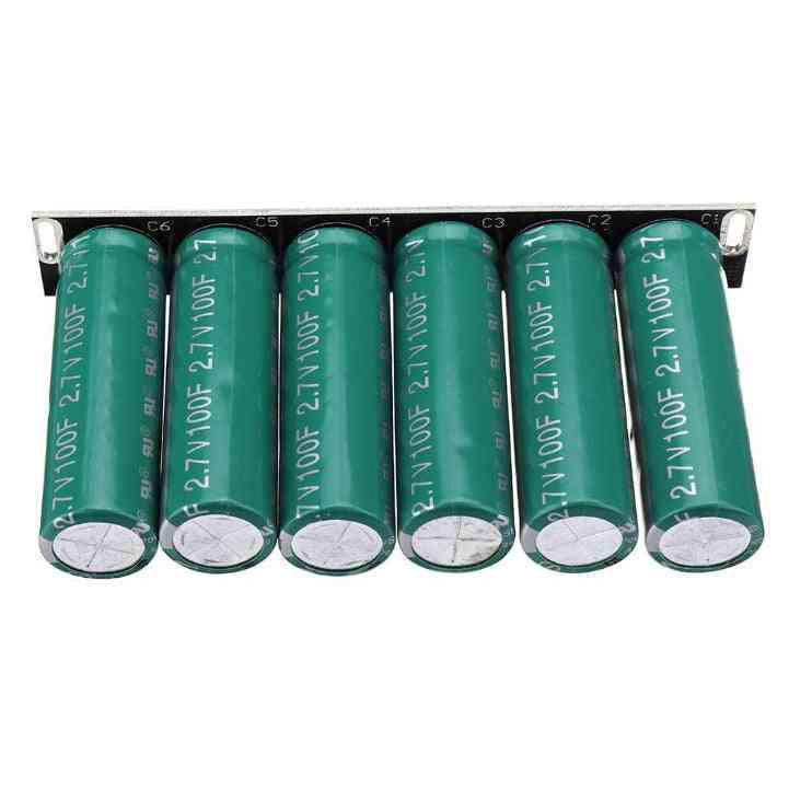 16v-16.6f/2.7v Super Capacitor-single Row Series, Power Supply Module