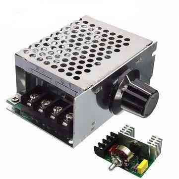 Ac Voltage Regulator - 220v Motor Speed Controller, Pwm Control Scr 4000w Dimmers Rectifier