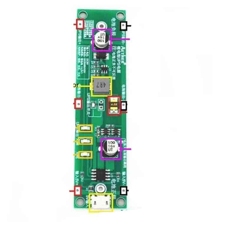 5v 18650 Lithium Battery Charger Protective Board