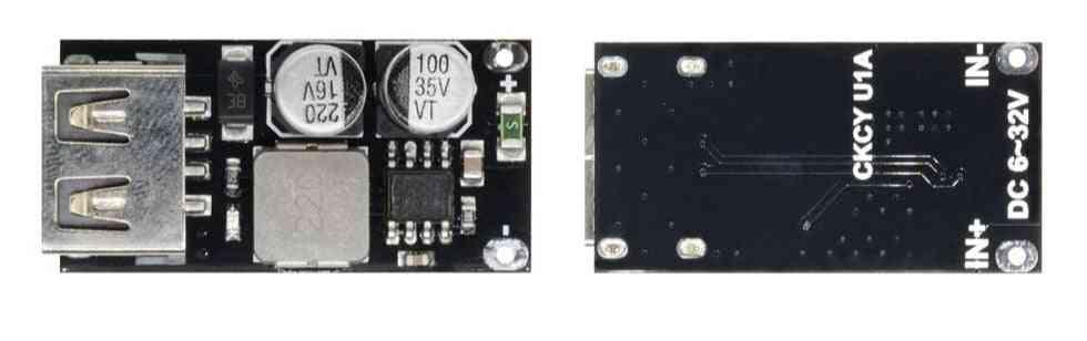 Usb Qc3.0/qc2.0 Dc-dc Buck Converter Charging Step Down Module, 6-32v/9v/12v/24v To Fast Quick Charger Circuit Board