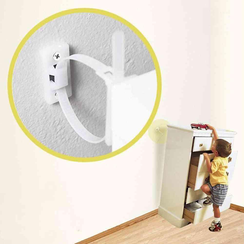 Furniture Anti-tip, Safety Strap Set