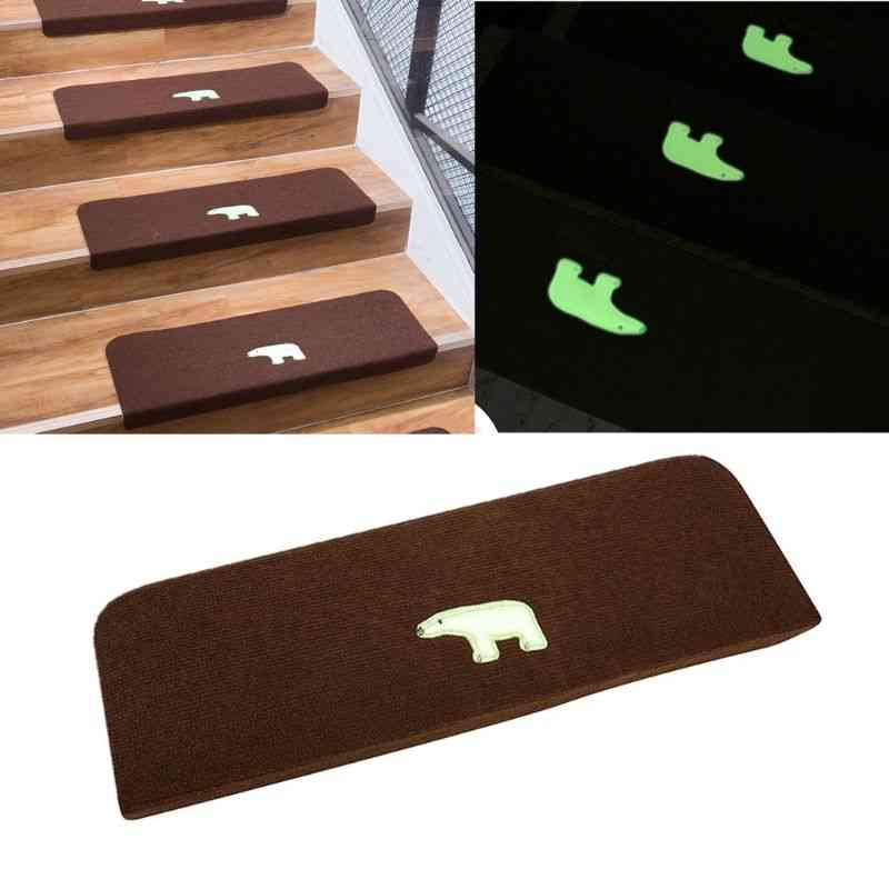 Non-slip, Luminous Bear- Anti-skid Stairs Rug