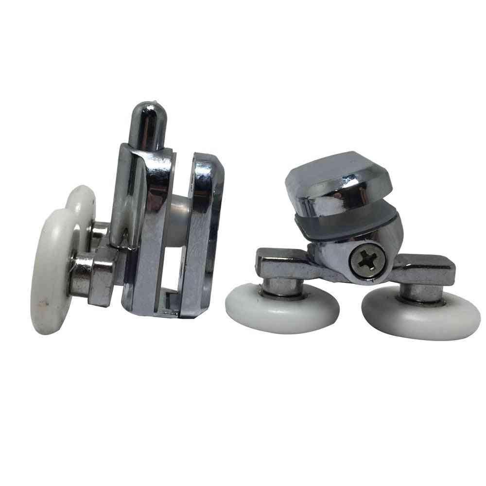 25mm Replacement Shower Door Fixing, Top And Bottom Wheels