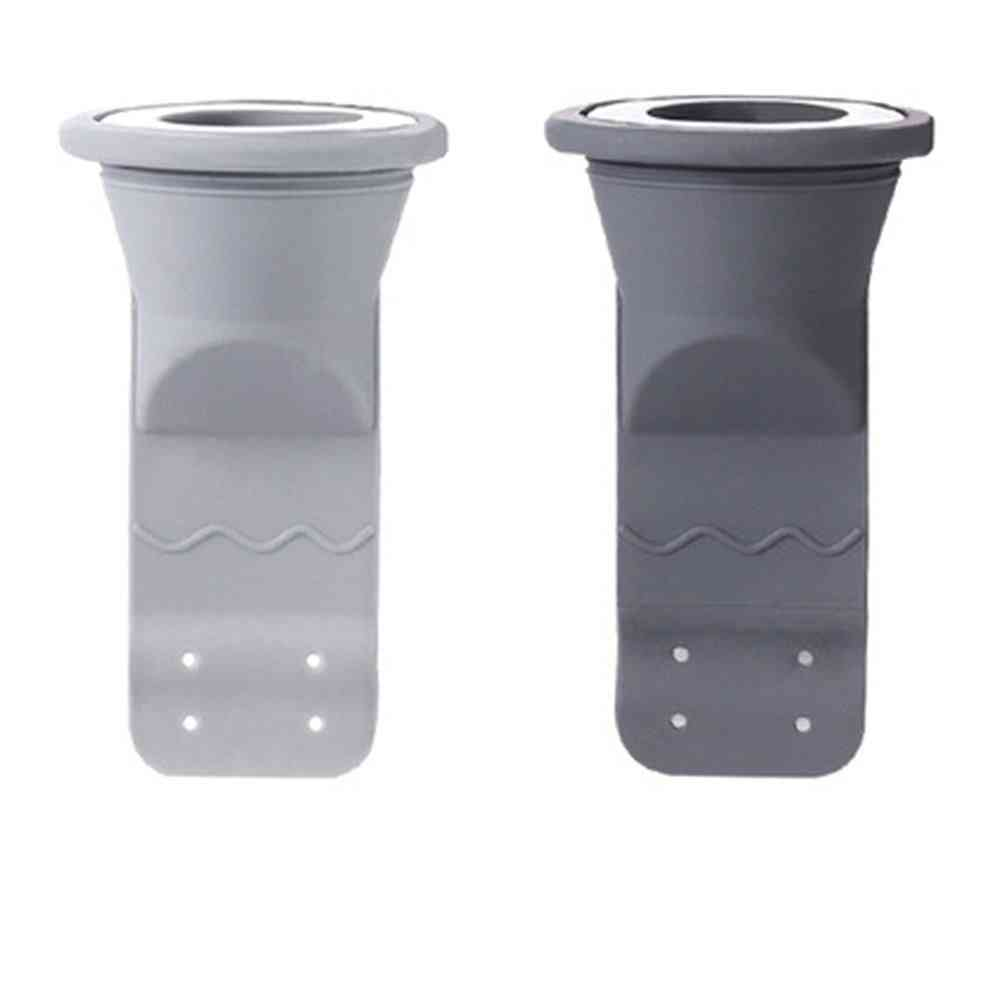 No Clogging Sink Drain Filter - Cutable Soft Silicone Anti-mildew Sewer Deodorant