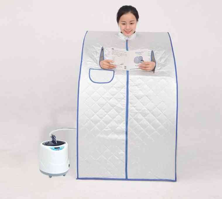 Portable Sauna Room - Beneficial Skin Infrared Weight Loss Calories Bath Spa With Bag