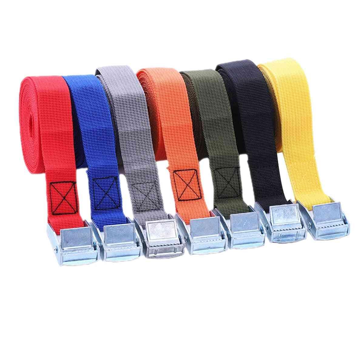 Multifunctional Bundling Belt - Ratchet Straps With Strong Buckle