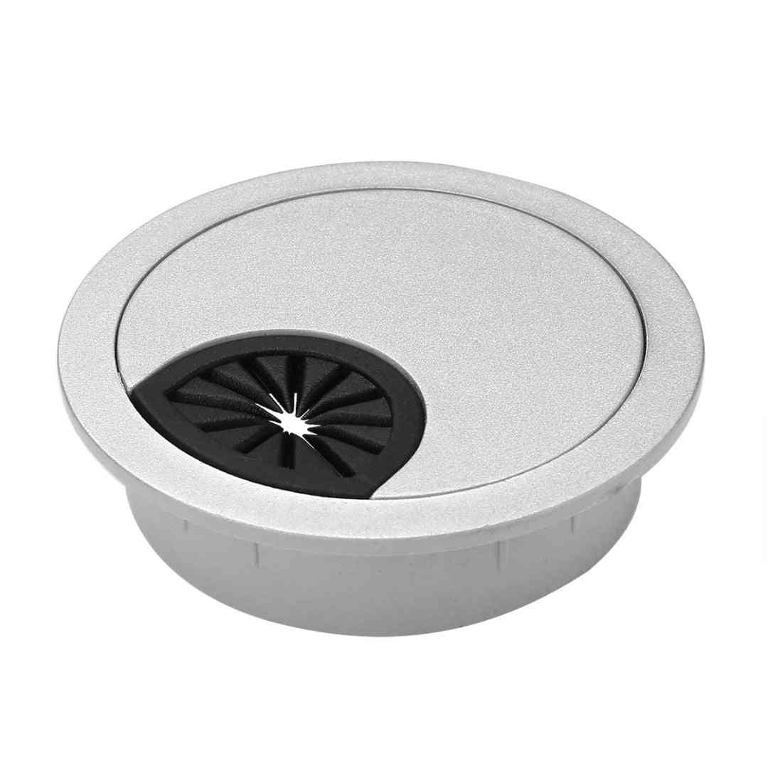 Plastic Table Grommet Cable Hole - Computer Round Wire Outlet Port