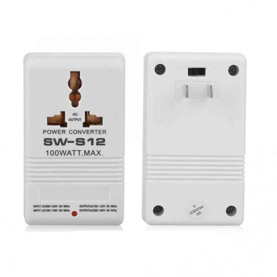 100w 110v/120v To 220v/240v Voltage Power Converter Transformer,  Step-up & Down Special Circuit Precision Manufacturing