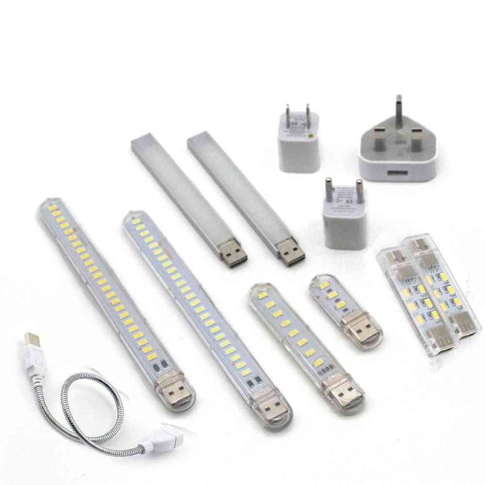 Led Mini Portable Usb Lamp - Camping Lighting For Power Bank, Pc And Laptop